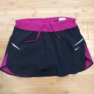 Nike Dri Fit Running Tennis Sports Skort Skirt